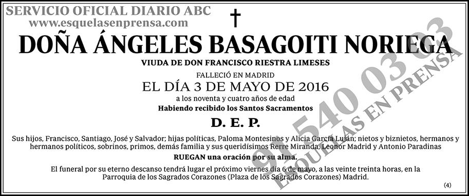 Ángeles Basagoiti Noriega
